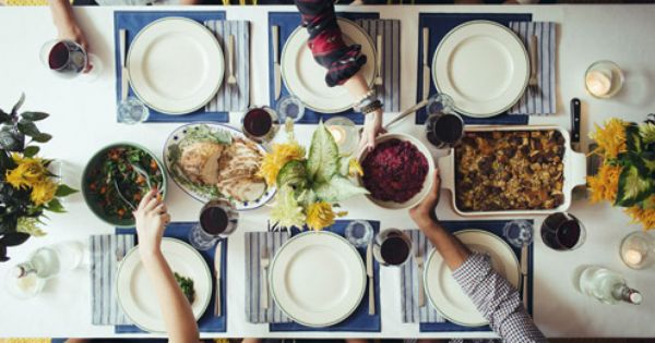 Thanksgiving 2012 Dinner Party Menu / Image via: TastingTable