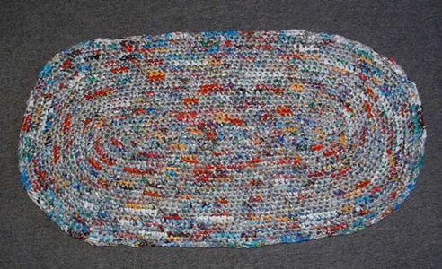 Plastic Trash Oval Rug Crochet Rug Patterns Crochet Rug Patterns Free Crochet Rug