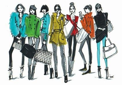 8 Things To Consider When Hiring A Personal Stylist Or Image Consultant Illustration Fashion Design Fashion Art Illustration Fashion Illustration