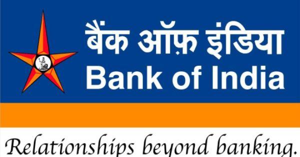 Bank Of India Tenders Bank Of India Bank Jobs Personal Loans