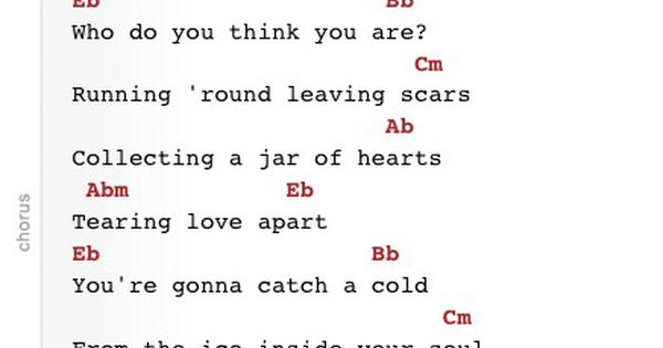 jar of hearts chords Christina Perri guitar : all things music : Pinterest : Jars, The ou0026#39;jays ...