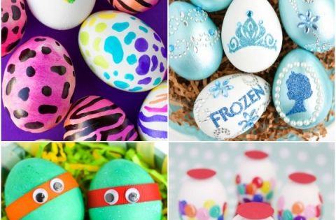 Easter egg decorating ideas 30 egg decorating ideas for for What to put in easter eggs for adults