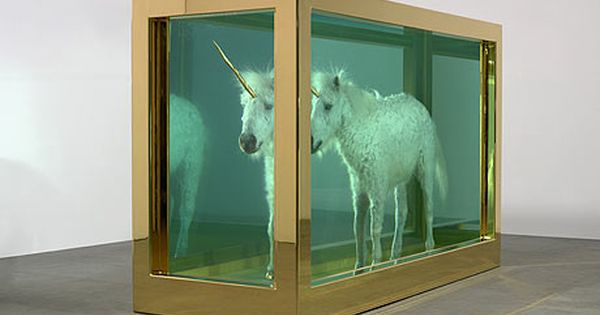 damien hirst unicorn to open mystical show at tate st ives art contemporain cabinet de. Black Bedroom Furniture Sets. Home Design Ideas