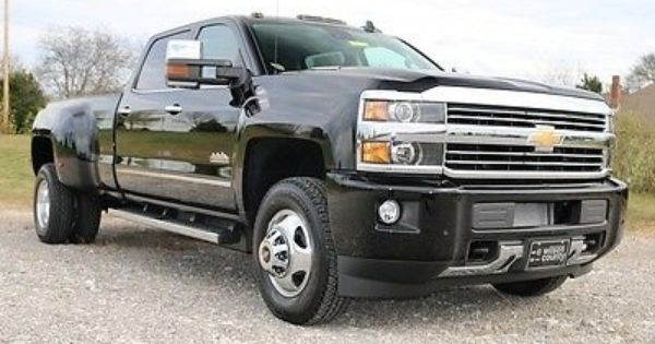 awesome 2016 chevrolet silverado 3500 crew cab high country drw duramax black 4x4 new for sale. Black Bedroom Furniture Sets. Home Design Ideas