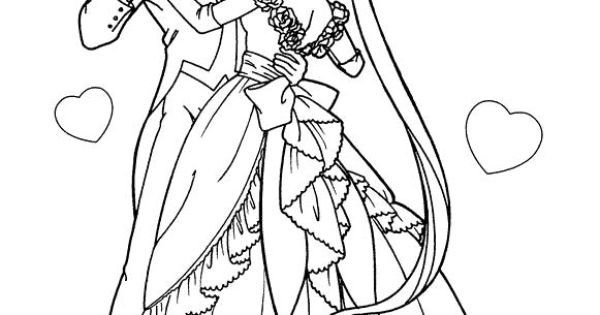 boyfriend girlfriend coloring pages - photo#47