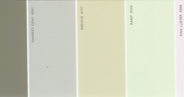 Martha Stewart Paint 5 Color Palette Card 32 Available From S