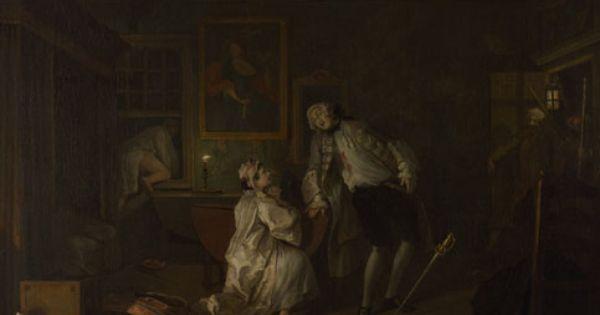 Marriage A La Mode 5 The Bagnio William Hogarth Ca 1743