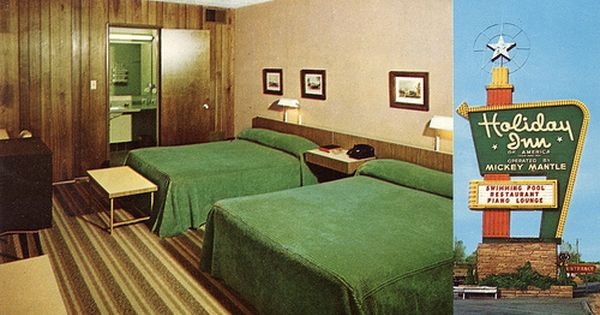 Mickey Mantle S Holiday Inn Joplin Missouri With Images