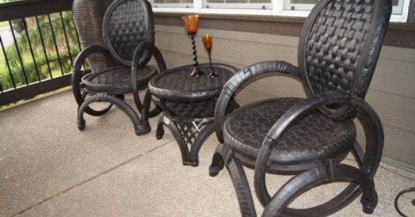 Tire Furniture Recycled Rubber Pinterest Tyre