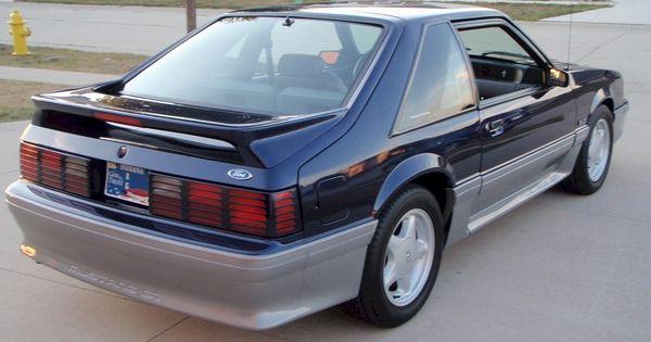 Royal Blue 93 Mustang Gt Hatchback Fox Body Mustang Mustang Ford Mustang Cobra