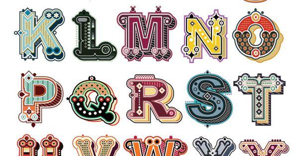 Jonny Wan typography letter pattern geometry graphic design