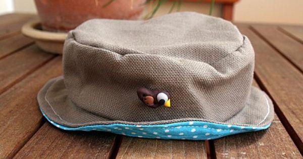 tuto pour un chapeau de b b mes tutoriels diy couture pinterest chapeaux tuto et b b. Black Bedroom Furniture Sets. Home Design Ideas