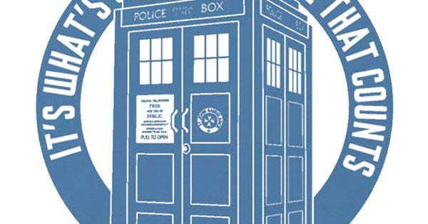 TARDIS tshirt @ thinkgeek