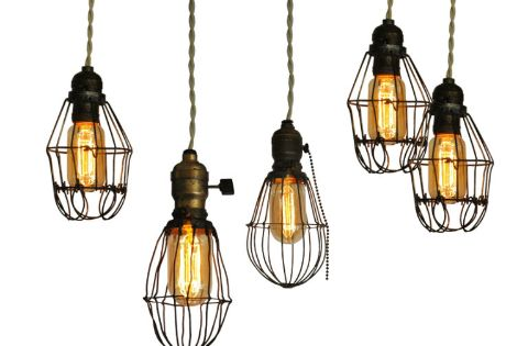 How to: Make DIY Vintage-Style Cage Lights » Man Made DIY |