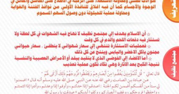 غض البصر Islam Facts Learn Islam Islamic Teachings