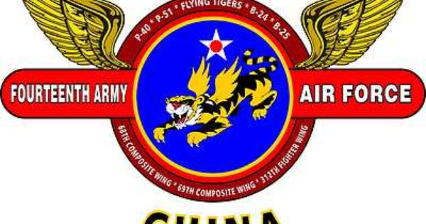 14th Army Air Corps Ww Ii China United States Army Air Corps