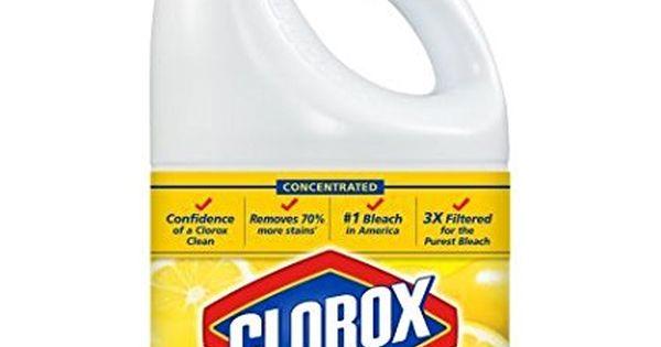 Clorox Bleach Lemon Fresh Scent 121 Ounces Clorox Bleach