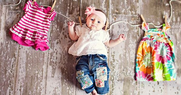 love this idea for Ellie's 3 month photo shoot!