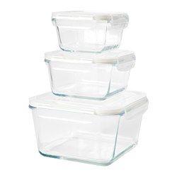 Matoppbevaring glass