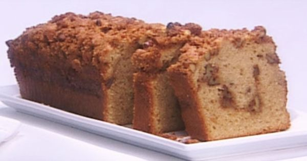 Anna Olson Applesauce Coffee Cake