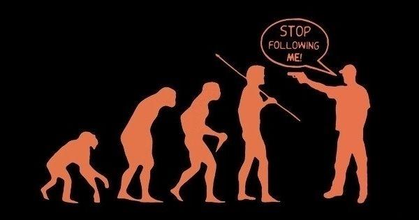 (EGAGLOGI)Ini loh,Bukti Teori Evolusi itu hanyalah mitos