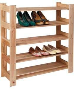 Diy Wooden Shoe Rack Plans Download Storage Bed Frame Plans
