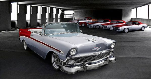 56 Bel Air Classic Cars Chevy Muscle Cars