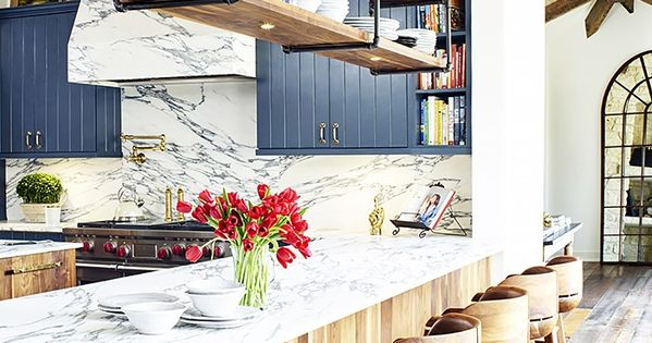 Brooklyn Decker's Eclectic Texas Home Turns On the Southern Charm  부엌, 집안 ...