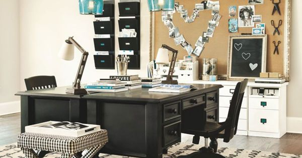 Home office furniture home office decor ballard designs office pinterest office - Ballard design home office ...