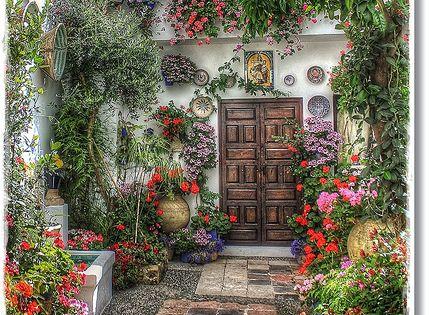 patio cordoba spain europe spain espa a pinterest. Black Bedroom Furniture Sets. Home Design Ideas