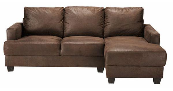 canap d 39 angle droit 3 4 places en su dine marron d co pinterest angle droit angles et. Black Bedroom Furniture Sets. Home Design Ideas
