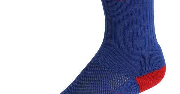 Women's New York Giants Royal Blue Vertical Stripe Socks ($11 ...