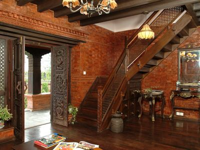A Newari House Reborn Features Ecsnepal The Nepali Way Kerala House Design Traditional House Plans Traditional House