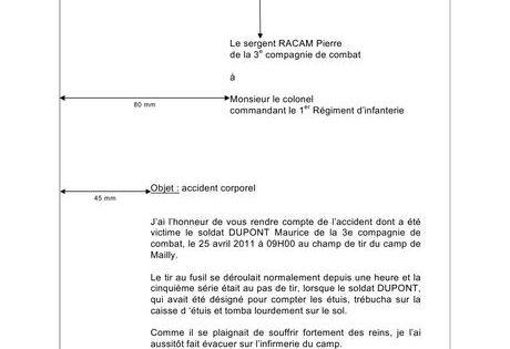 Compte Rendu Militaire Gabarit Paperblog Modeles De Lettres Telecharger Modele Cv Exemple De Lettre