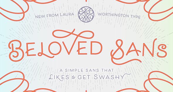 Beloved Sans Regular – Sans-Serif Fonts – Beloved Sans – A simple sans that likes to get swashy
