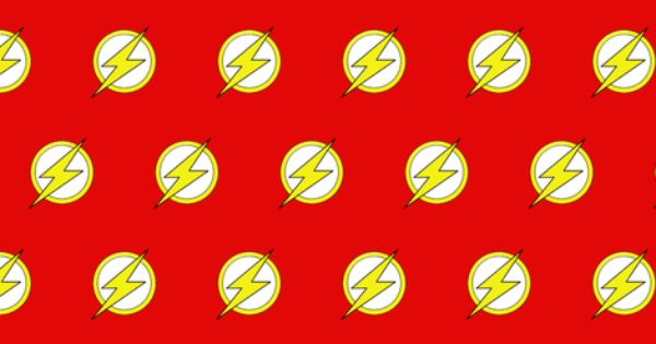 Dc Comic The Flash Logo Fabric By Nanner Lee On