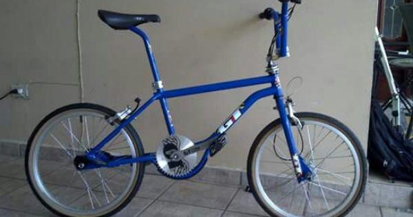 Gt Aggressor Blue Gt Bmx Bmx Bicycle