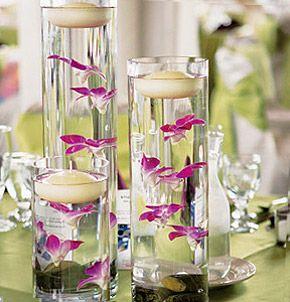 Vase En Verre Droit Cylindrique Pas Cher Centre De Table Mariage Printemps Centres De Table Simples Decorer Vase En Verre