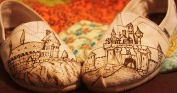 Custom Hogwarts TOMS // TOMSshoes TOMS Shoes OneforOne One for One StyleYourSole