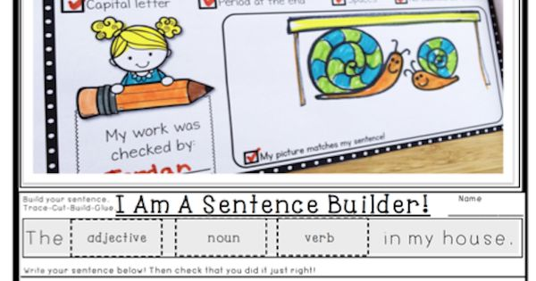 Sentence building, Sentences and Building on Pinterest