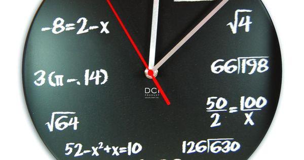 #MathClock