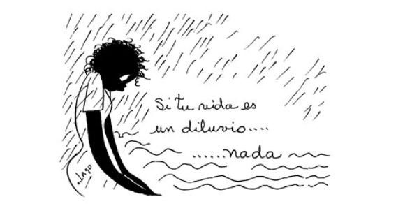 Nieves Caricatura Consuelo Lago Opinion Filosofica Nieves