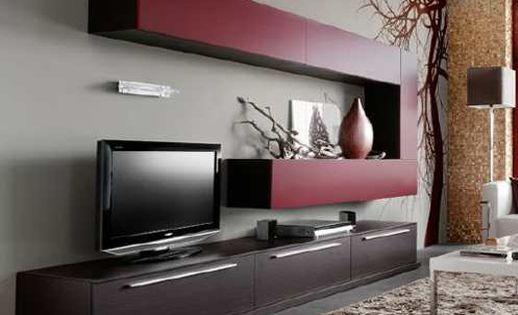 Rack modulo lcd luisiana factory muebles fabrica de for Fabrica de muebles a medida