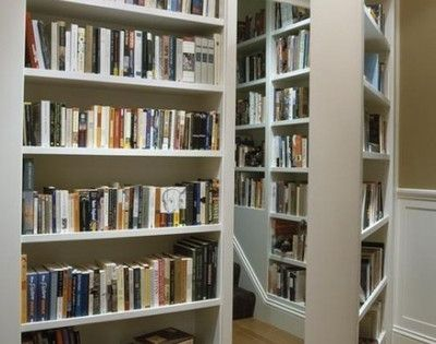 Secret library accessed by secret door case...perfect for when i win the lottery and build my dream house :)