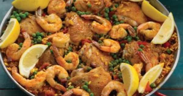 recipes chicken shrimp and chorizo paella sur la table tasty treats pinterest paella. Black Bedroom Furniture Sets. Home Design Ideas