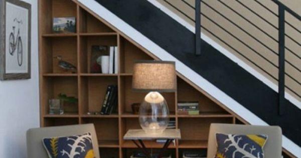 Lighting Basement Washroom Stairs: Under-stair-storage-solution-staircase-den-home-office