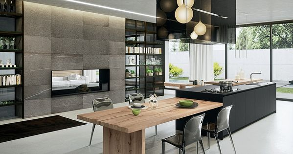Sophisticated Contemporary Kitchens with Cutting-Edge