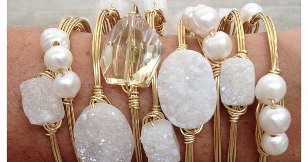 Sea Glass & Fresh Water Pearls Jewelry