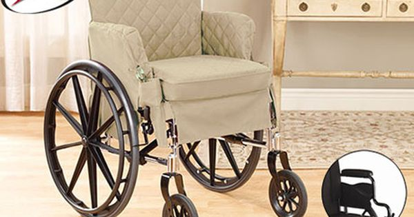 Sure Fit Slipcovers Desk Wheelchair Cover 18 Inch Wide X