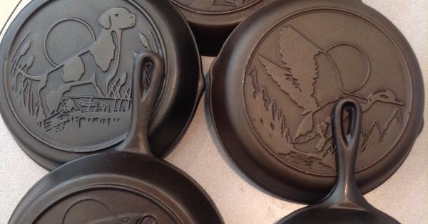 Lodge Wildlife Series Five Different Skillets That Makeup
